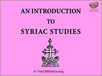An Introduction to Syriac Studies