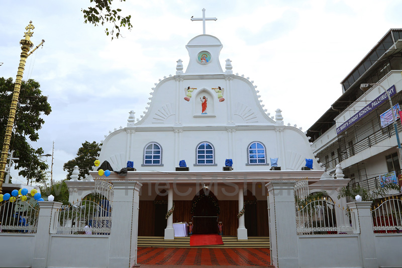 St. Mary's Church, Palluruthy (Suriyanippally)