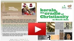 Kerala, the Cradle of Christianity in South Asia - youtube Video
