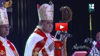 Bishop Joy Alappatt acknowledges Dr . Joseph J  Palackal - CMSI 242
