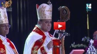 Bishop Joy Alappatt acknowledges Dr. Joseph J. Palackal